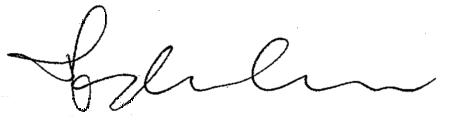Madonna's signature
