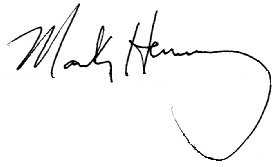 Mark Henry's signature