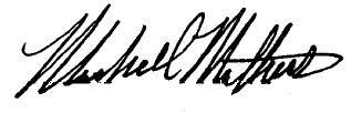 Marshall Mathers Eminem signature