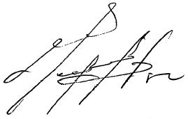 Mel Gibson signature