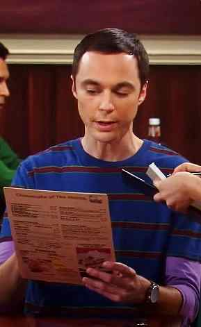 The Big Bang Theory Sheldon Cooper perplexed