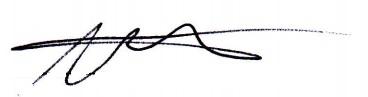 Nasri Atweh's signature