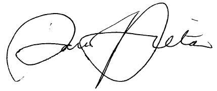 Paris Hilton's signature
