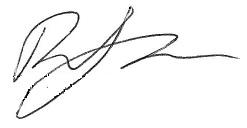 Rita Ora's signature