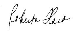 Roberta Flack's signature