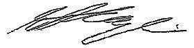 Shania Twain's signature