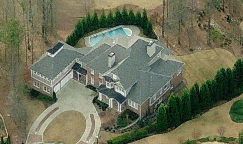 photo: house/residence of cool fun talented  35 million earning Duluth, Georgia, United States-resident