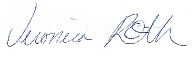 Veronica Roth's signature