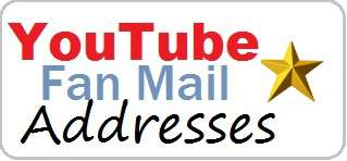 YouTube Stars Addresses