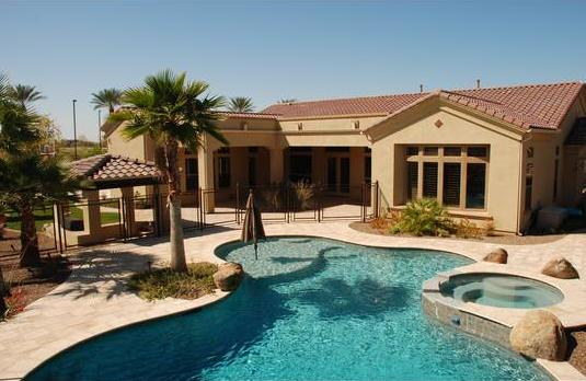 Brandon Lyon house Chandler AZ - home pictures