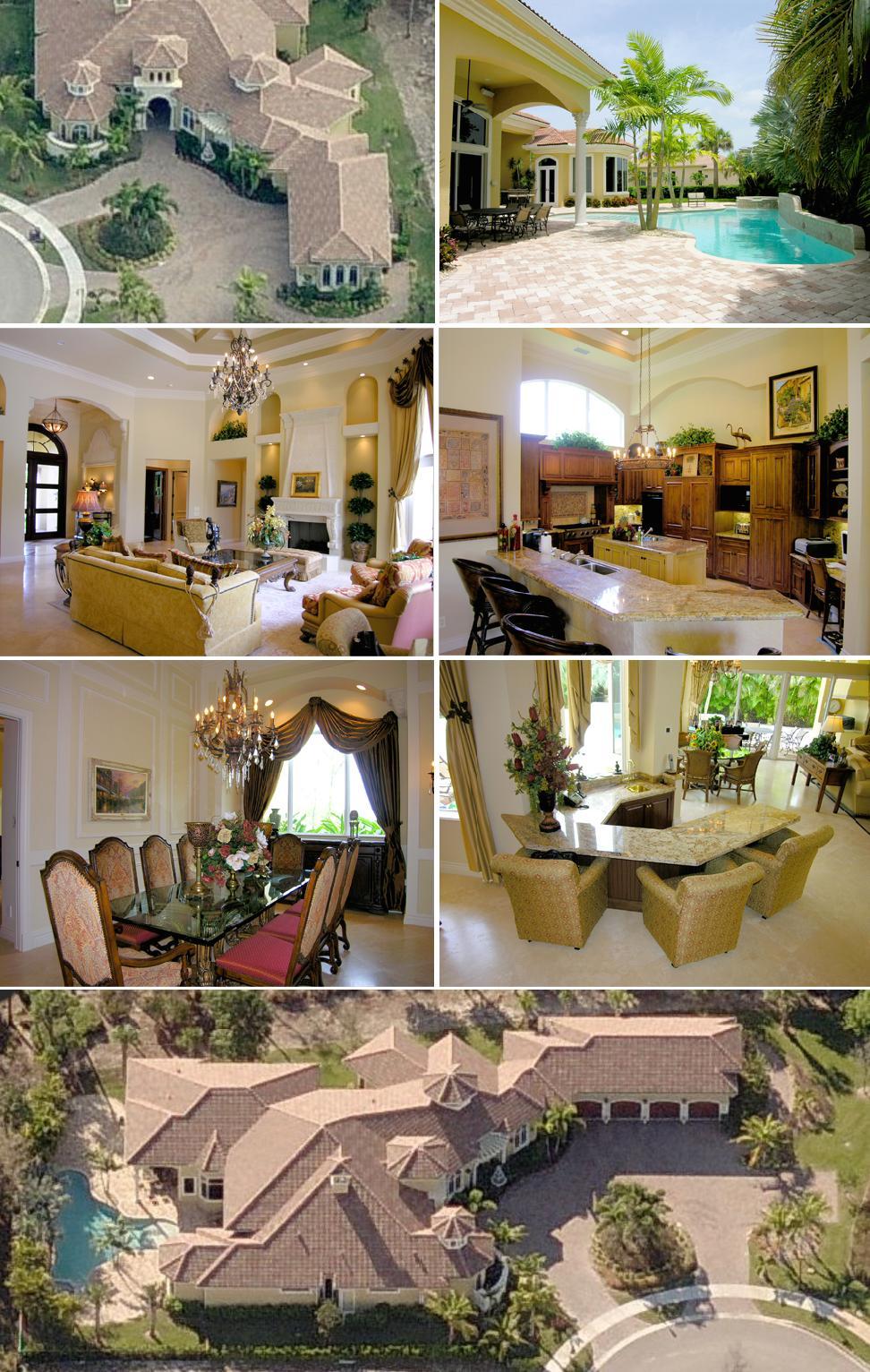 Brian Schneider house in Palm Beach Gardens, Florida