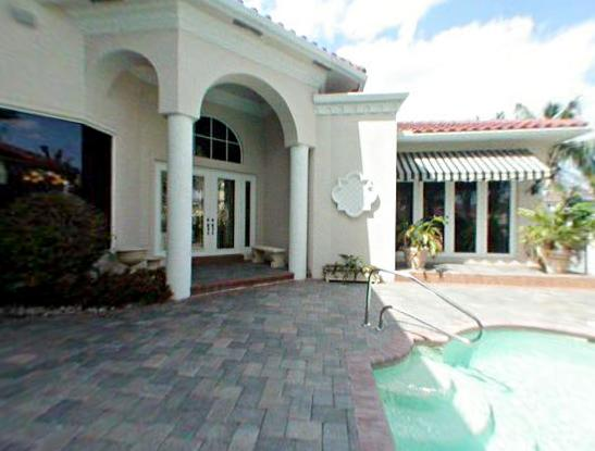 Bryan McCabe's house in Delray Beach, Florida