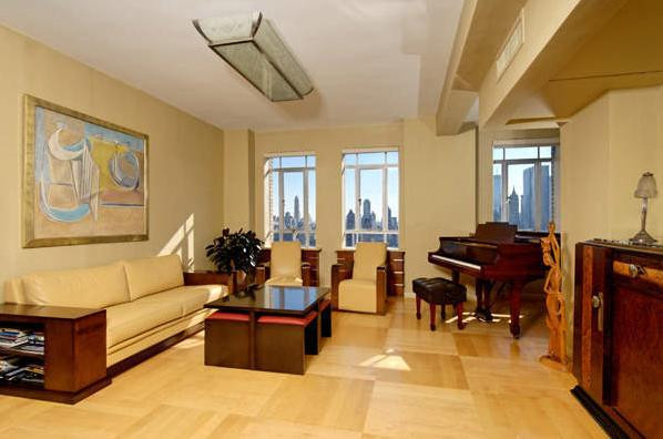 Chris Drury's condo in New York City