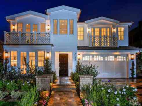 Corey Perry's house Corona Del Mar California pictures