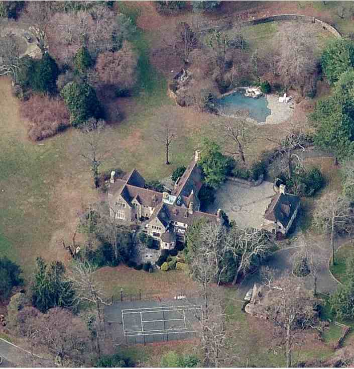 Diana Ross's house in Greenwich, Connecticut