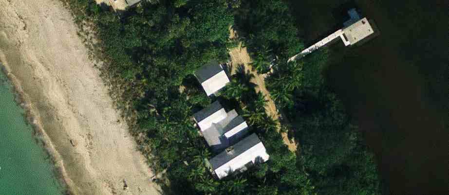 Donna Summer's house on the beach near Sarasota, Florida
