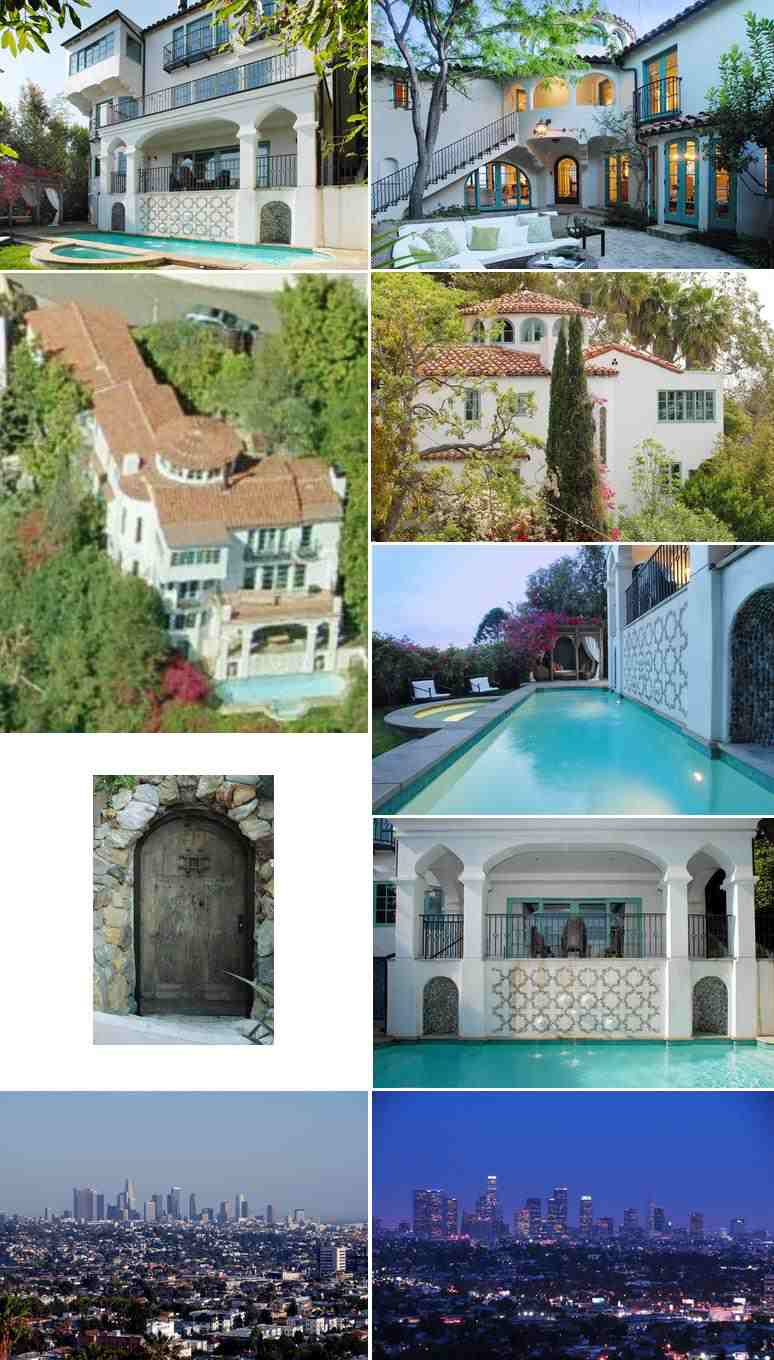 Gerard Butler's house in Los Angeles