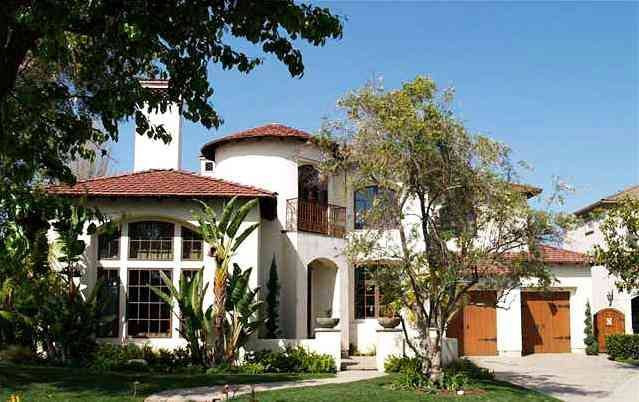 Jean-Sebastien Giguere's house Newport Beach, California