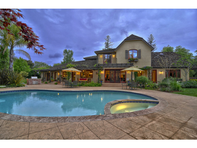 Jim Harbaugh house Atherton CA pictures - California home pics