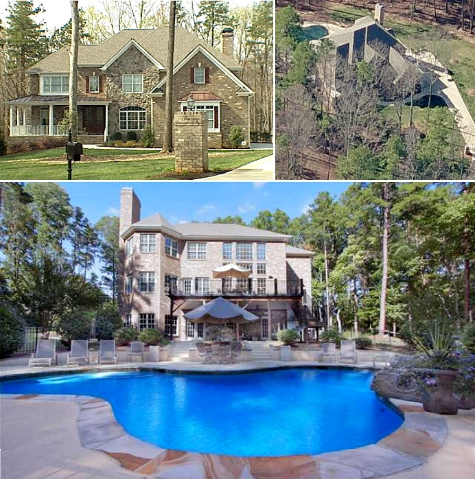 Joey Logano mansion in Huntersville