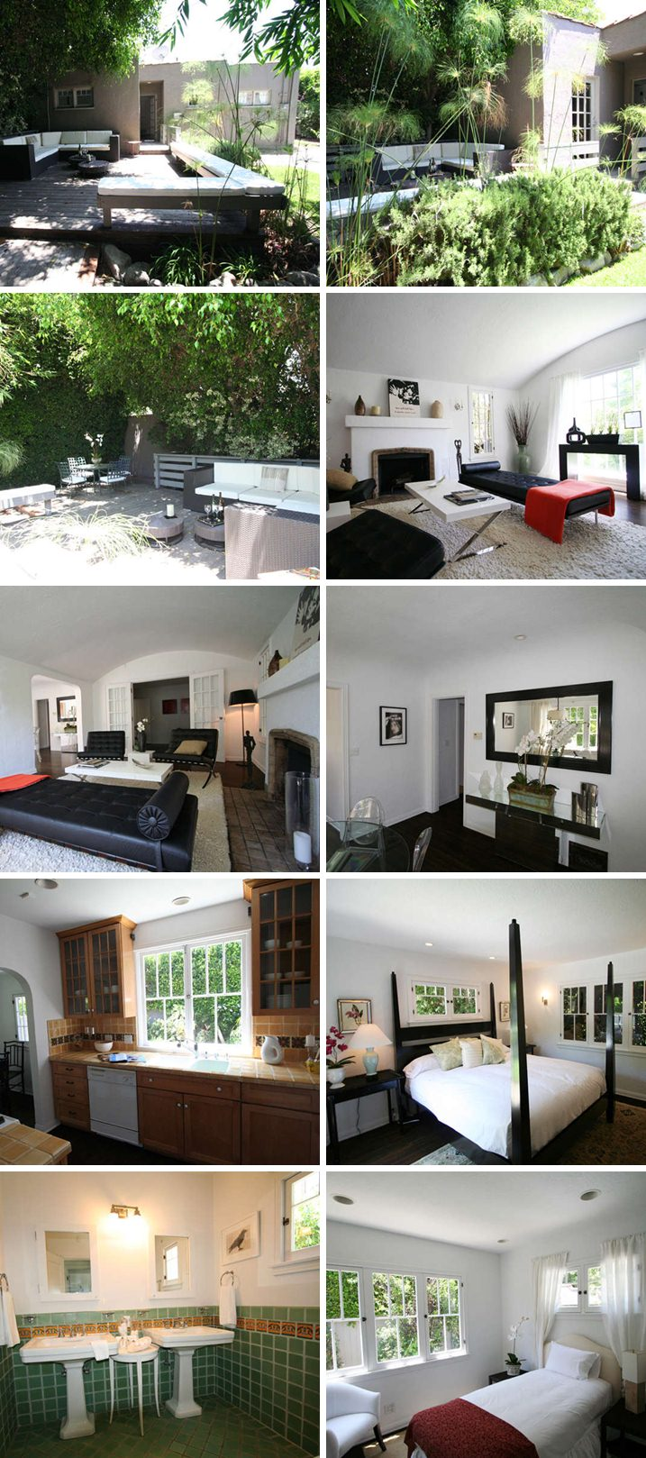 Julie Benz house West Hollywood, California - home pictures West Hollywood, California