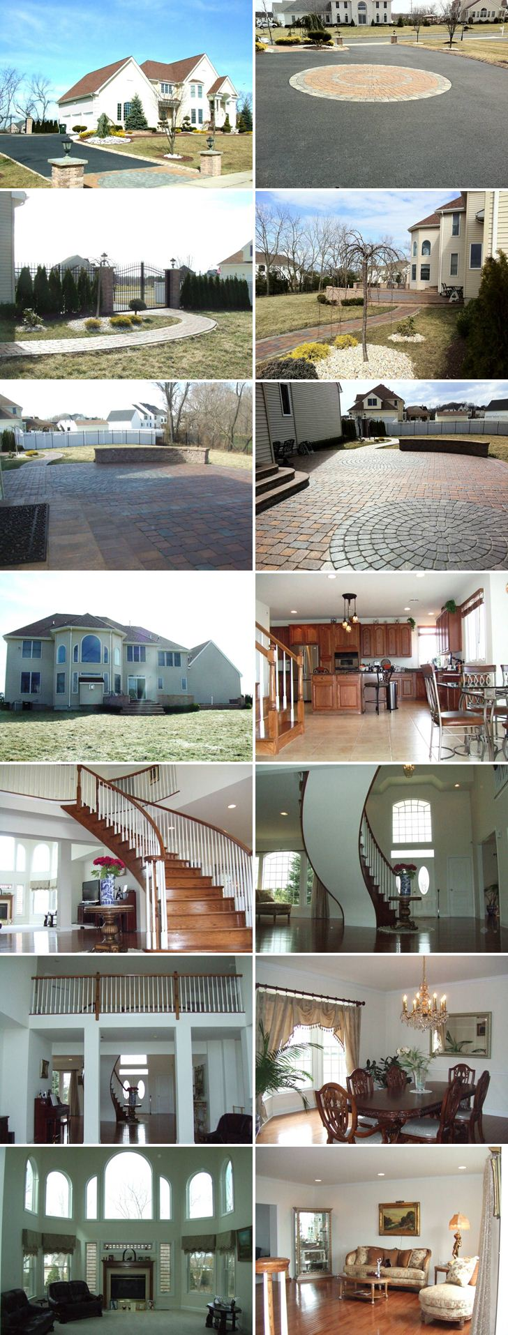 Pictures of Karina Smirnoff's house in Freehold, New Jersey