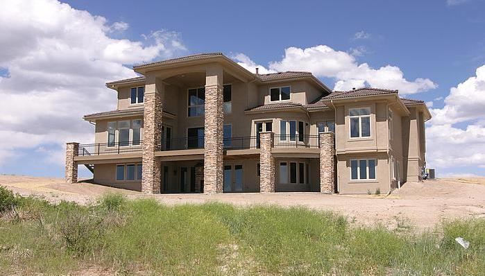 Picture of Knowshon Moreno's house in Parker, Colorado