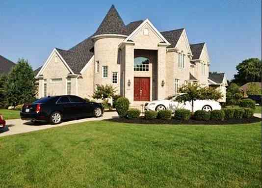 Picture of Kyrie Irving's house in Westlake, Ohio