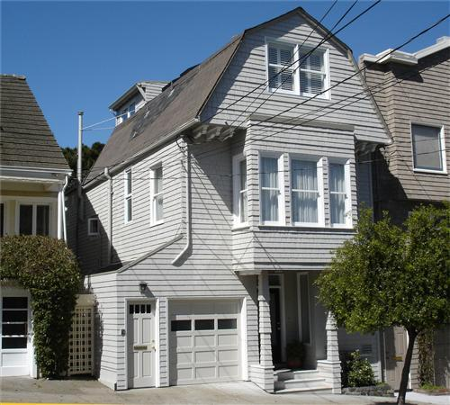 Linda Ronstadt's house San Francisco California - home photos