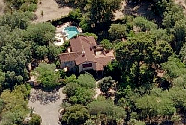 Linda Ronstadt's house in Tucson, Arizona - home photos
