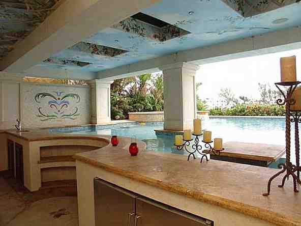 Mike Miller's house in Pompano Beach, Florida - home pictures