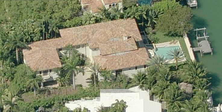 Mike Piazza house in Miami Beach, Florida