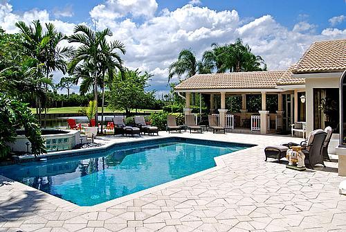 Morgan Pressel house in Boca Raton Florida - home photos