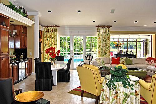 Morgan Pressel's house in Boca Raton Florida - home photos