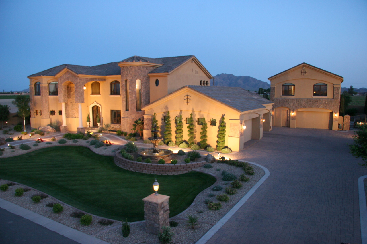 Arizona cardinals patrick peterson s home in gilbert az for Pictures of luxury homes