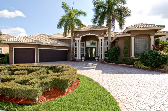 Picture of Rashad Evans house in Boca Raton FL