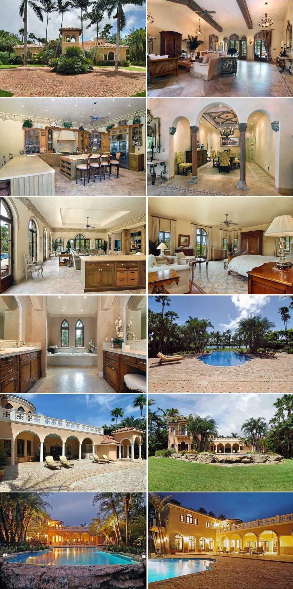 University of Louisville head coach Rick Pitino's house is for sale in Indian Creek, Florida