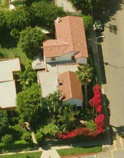 Seth Rogen's house in West Hollywood, California