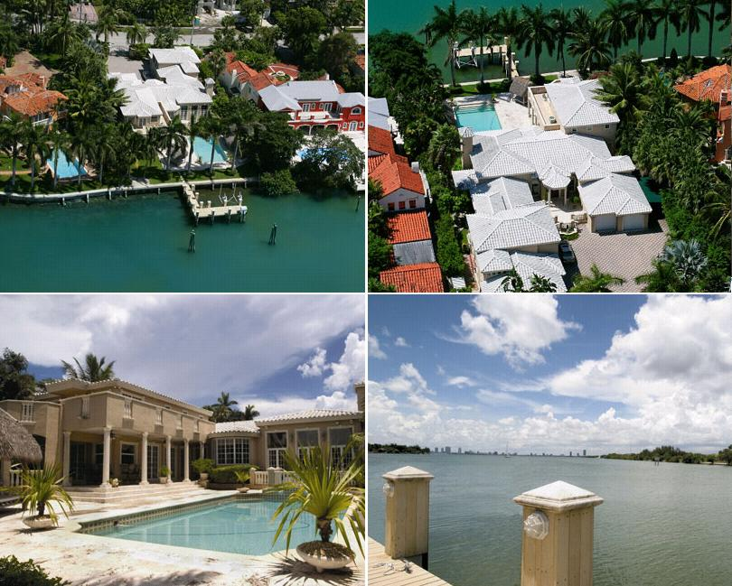 Shakira's home Miami Beach, Florida - house picture