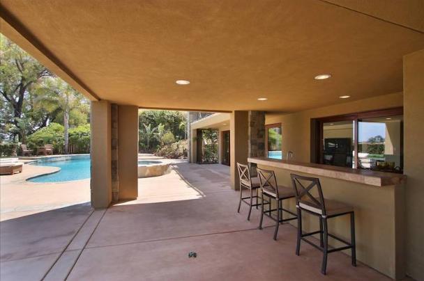 Troy Polamalu house - home pictures - La Jolla, CA