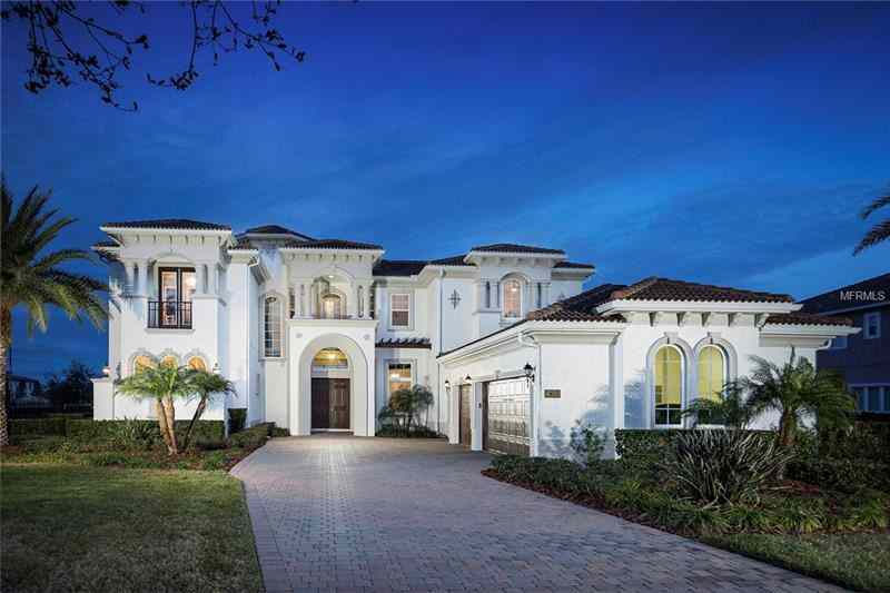 Picture of Orlando Magic Player Markelle Fultz house in Windermere, Florida.