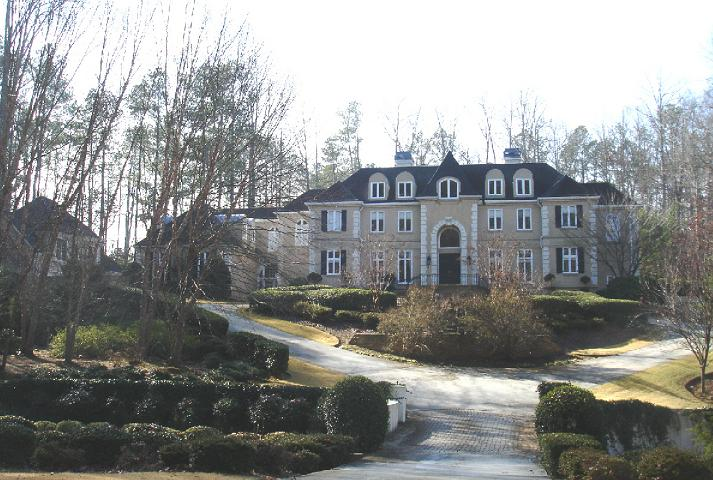 photo: house/residence of cool beautiful  80 million earning Atlanta, Georgia, USA-resident