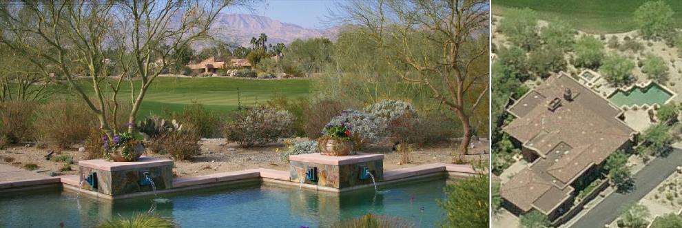 Al Michaels house - Indian Wells, CA