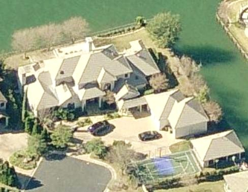 Andy Roddick's house in Austin, Texas