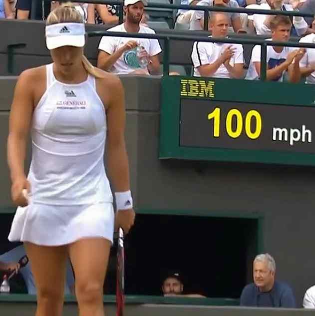 Angelique Kerber Wimbledon 2017 second round