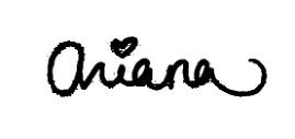 Ariana Grande's Signature
