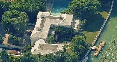 Barry Gibb Miami Beach mansion