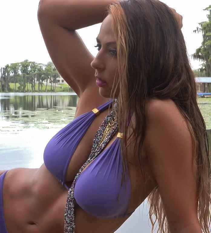 Emma WWE bikini shoot