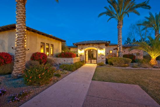 Bobby Jenks' house Mesa, AZ - pictures Arizona home
