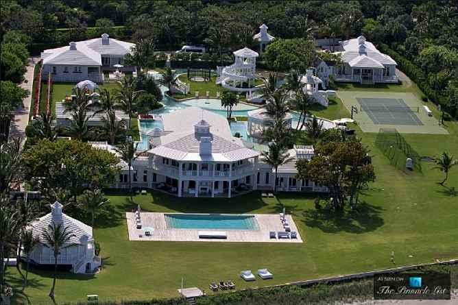 Celine Dion's former Hobe Island, Florida house